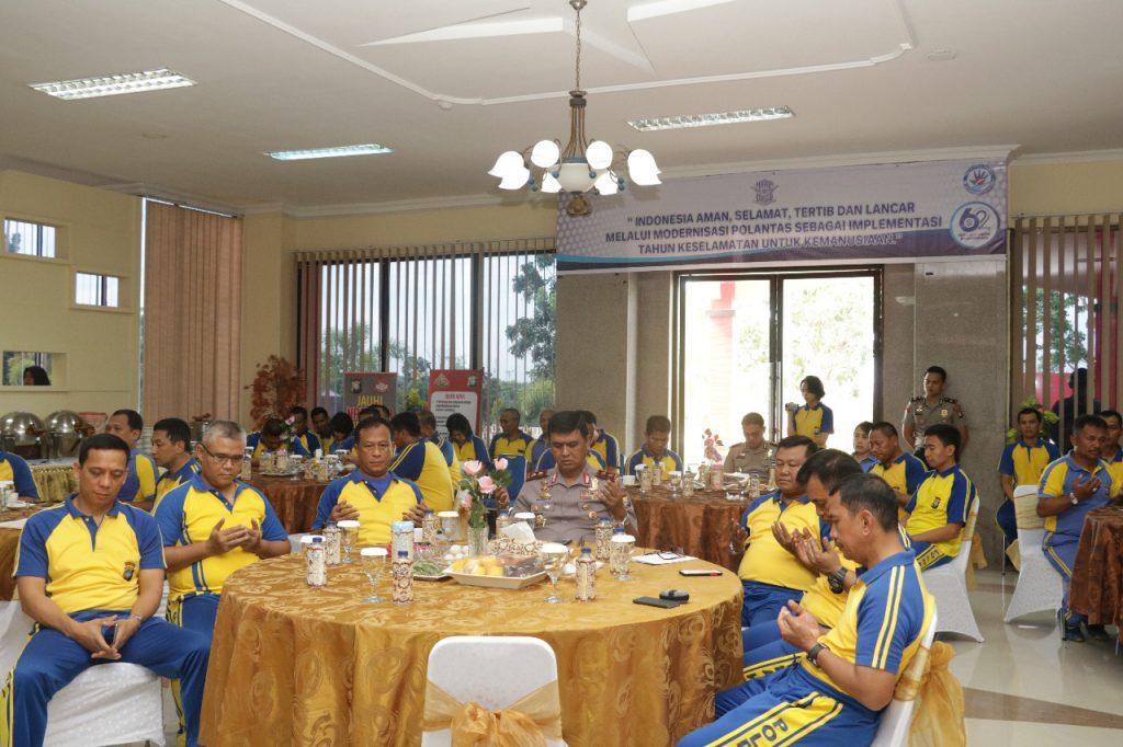 Syukuran HUT Lalu Lintas Bhayangkara Tahun 2017 di Polda Kepri