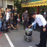 Pemusnahan Barang Bukti Sabu seberat 915 Gram Oleh Sat Resnarkoba Polresta Barelang