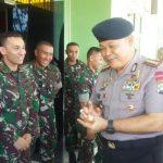 Ciptakan Harmonisasi Antar Intansi, Kasat Brimob Polda Kepri Kunjungi Mako Yonif 136 Raider Khusus/TS dan Mako Yonif-10 Mar/SBY