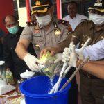 Polres Karimun Press Release & Pemusnahan BB Narkotika