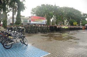 Polres Karimun Apel Kesiapan Pengamanan Tahun Baru 2018