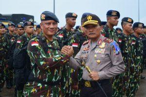 100 Personil Satbrimob Polda Kepri Pulang dari Ops Tinombala, Kapolda Kepri Bangga