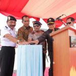 Kabakamla RI Resmikan Kapal Patroli KN.  Tanjung Datu 1101 Garapan Anak Bangsa