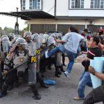 Masyarakat Antusias Melihat Aksi Simpamkota Pilkada 2018 Polres Tanjungpinang