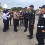 HUT Satpam Ke 37 Polres Karimun Berikan Penghargaan Kepada Satpam Yang Berprestasi