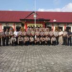 43 Siswa SPN POLDA KEPRI Dinyatakan Selesai Melaksanakan Latja DI Polres Bintan