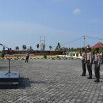 Sebanyak 43 Orang Siswa SPN POLDA KEPRI Melaksanakan Latja Di Polres Bintan