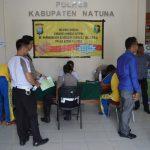 Sebanyak 105 Personil Polres Natuna Lakukan Rikesla dari BIddokes Polda Kepri.