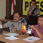 Polres Lingga Menggelar Press Confrence Keberhasilan Satres Narkoba Dalam Penangkapan Kasus Narkotika