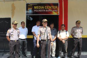 Peresmian Media Center Oleh Kapolresta Barelang