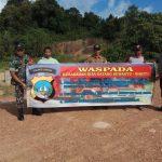 Bhabinkamtibmas dan Babinsa Desa Laboh Berikan Himbauan Tentang Kebakaran Hutan