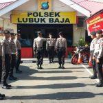75 Siswa melaksanakan Latihan Kerja Siswa Diktuba Polri 2017/2018 di Polresta Barelang