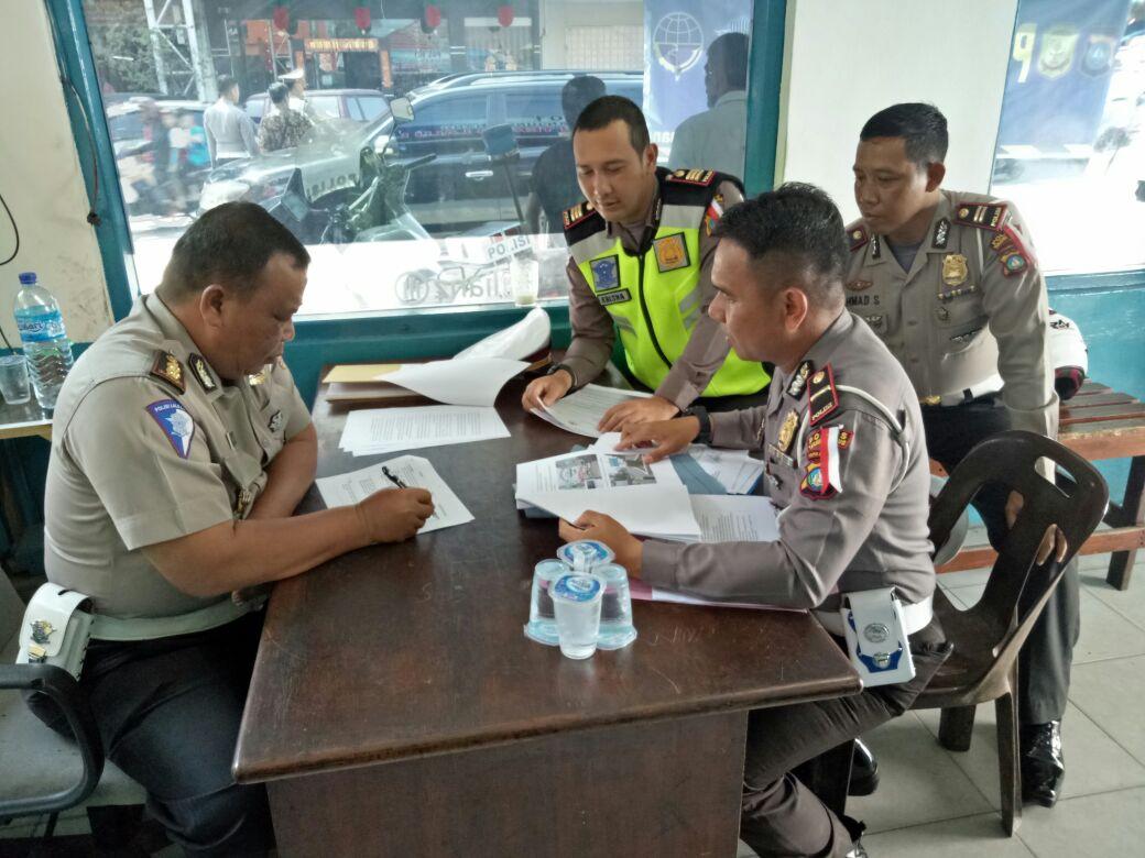 Sat Lantas Polres Tanjungpinang Akan Kedatangan Tim Supervisi Dari Korlantas Polri