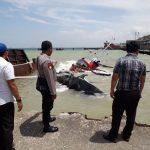 Dihantam Ombak, Kapal TB Hongkin yang Menarik Tongkang Tenggelam