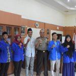 Polres Tanjungpinang Didatangi Mahasiswa PMII