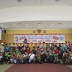 Polres Bintan Bersama Pemerintah dan Masyarakat Bersama-sama Mendeklarasikan Anti Hoax Dan Hate Speech Di Kabupaten Bintan.