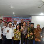 Berani Bersaksi, Polres Lingga Bersama LPSK Mendorong Masyarakat Berani Bersaksi