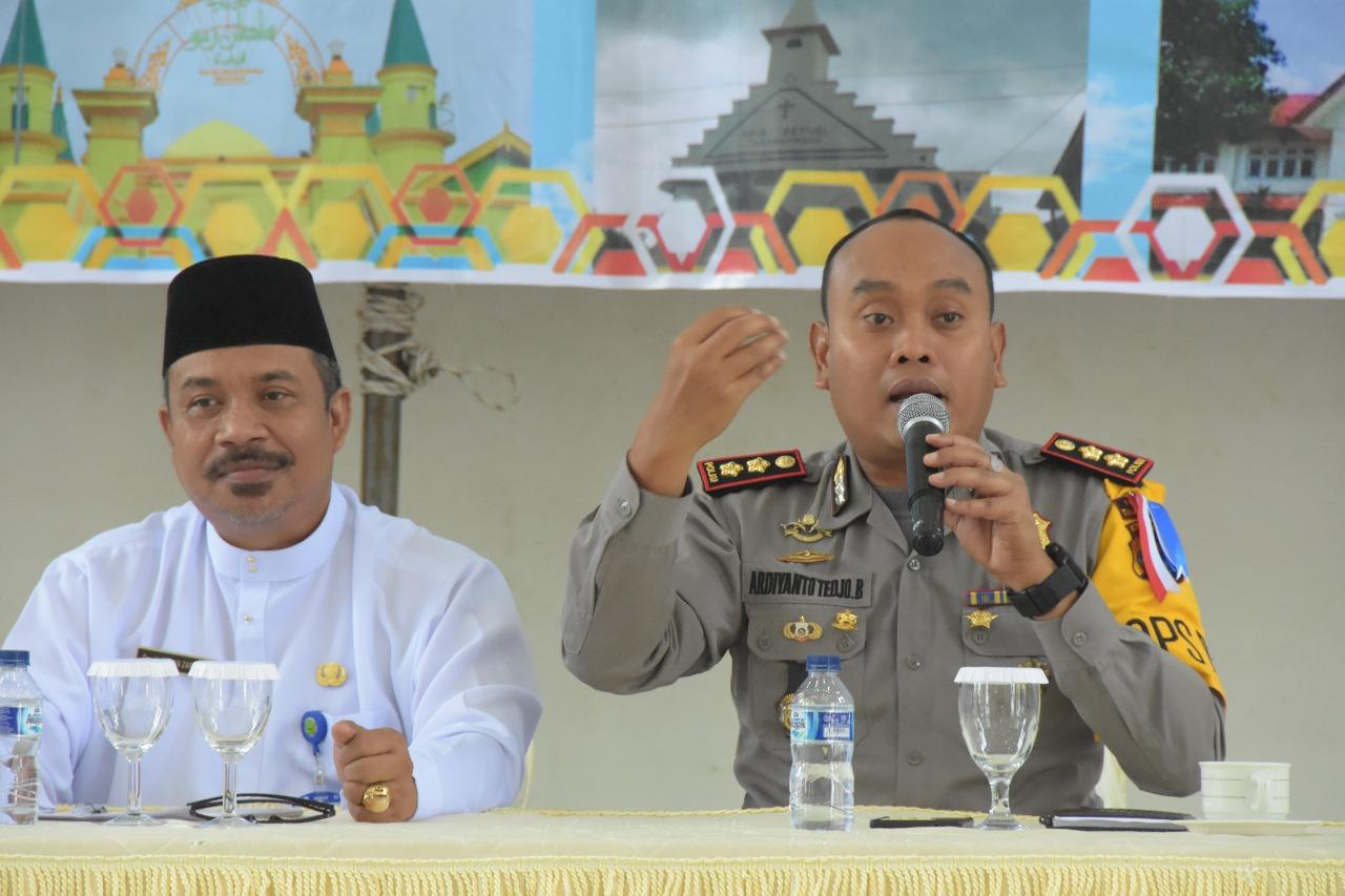 "Seluruh tokoh agama dan Pengurus Rumah Ibadah Kota Tanjungpinang bersepakat untuk melaksanakan Deklarasi Damai serta ""Jangan Jadikan Rumah Ibadah sebagai Arena Kampanye"""