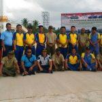 Menjalin Sinergitas Yang Baik,TNI POLRI ,Pemda Dan Masyarakat Natuna Olahraga Bersama