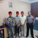 Polsek Sekupang Mengamankan 3 Remaja Pelaku Pencurian Kendaraan Bermotor Roda Dua