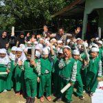 Puluhan Murid TK Mendapat Pengenalan Tanaman Hydroponic Dari Satbinmas Polres Lingga