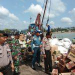 Ciptakan Rasa Aman dan Nyaman, Polres Lingga Laksanakan Patroli Bersama TNI dan Dishub
