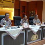 Tim Lemdiklat Polri Gelar FGD Tinjau Kesiapan Penyelenggaraan Diktuk Bintara Perbatasan TA. 2018 di Polda Kepri