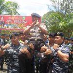 Kapolda Kepri Pimpin Apel Bersama TNI- POLRI serta Pemda Kab Natuna guna Menjalin Sinergitas dan Soliditas Yang Baik