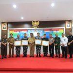 Acara Ramah Tamah dan Pemberian Penghargaan Mendagri Kepada Kapolda Kepri beserta Angota TNI-Polri