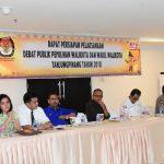 Jelang Debat Paslon, KPU dan Polres Tanjungpinang Gelar Konsolidasi Kesiapan