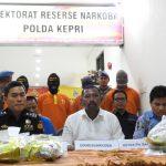 Dir Resnarkoba Polda Kepri Pimpin Pemusnahan Barang Bukti Sabu Seberat 5.598 Gram