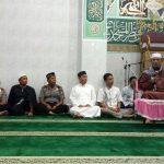 Polres Lingga Ikuti Tablig Akbar Dalam Memakmurkan Masjid di Kabupaten Lingga