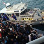Ditpolairud Polda Kepri Berhasil Selamatkan Penumpang Kapal Hanyut di Perairan Singapura