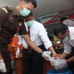 Ditresnarkoba Polda Kepri Musnahkan Kembali Barang Bukti Narkotika