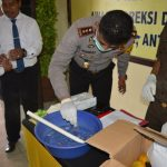 Sebanyak 6,05 Gram Sabu di Musnahkan oleh Polres Natuna Bersama Instansi terkait