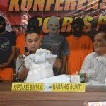 3 Kg Sabu berhasil Diamankan Sat Resnarkoba Polres Bintan