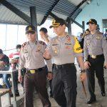 Kapolres Karimun, Bupati dan FKPD Tinjau Arus Mudik Dipelabuhan