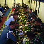 Sinergitas TNI POLRI, Satlantas Polres Natuna dan TNI Buka Puasa Bersama