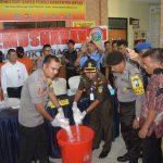 Narkoba Jenis Sabu Seberat 8 Kg Dimusnakan Sat Resnarkoba Polres Bintan