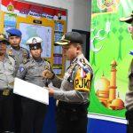 Kapolres Tanjungpinang Cek Pos PAM dan YAN Pastikan Kesiapan Pengamanan Lebaran