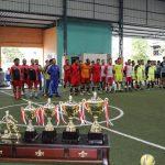 Menyambut HUT Bhayangkara Ke 72 Polres Karimun Gelar Turnamen Futsal
