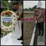 Polres Karimun Selenggarakan Upacara Makam Pahlawan & Tabur Bunga