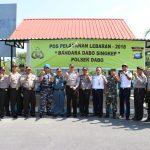 Pastikan Kesiagaan, Kapolres Lingga Bersama FKPD Tinjau Pos Pengamanan dan Pelayanan Operasi Ketupat