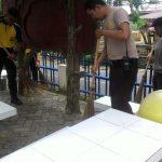 Bakti Religi Polda Kepri Bersih-Bersih 3 Rumah Ibadah di Tanjungpinang