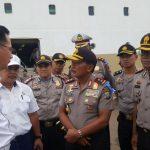 Kapolda Kepri Pantau Langsung Arus Balik di Pelabuhan Batu Ampar
