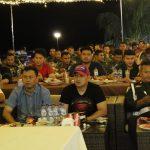Kapolres Karimun Nobar Final Piala Dunia Bersama TNI & Masyarakat