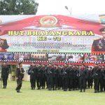 Presiden Ucapkan Selamat kepada Seluruh Jajaran Polri dalam Upacara Hari Bhayangkara ke-72