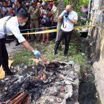 Polsek Batu Aji Amankan Pembuang Bayi Terbakar di Tempat Sampah