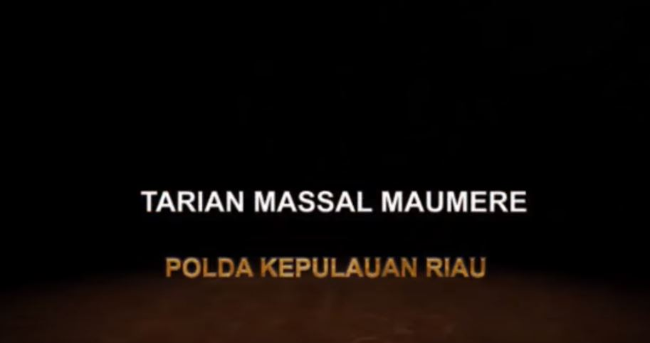 TARI MASSAL MAUMERE POLDA KEPRI