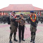Polda Kepri Gelar Apel Penyambutan 200 Personil Satgas Amole BKO Polda Papua
